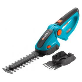 Akumulatorowe nożyce do cięcia brzegów trawnika i krzewów Gardena ComfortCut - zestaw